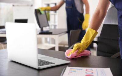Come si fanno le pulizie negli uffici